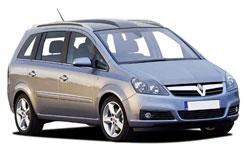 Vauxhall Zafira 5+2 pax