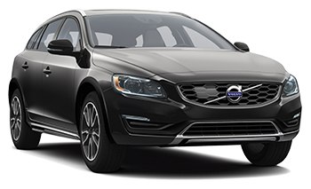 Volvo V60 CC AWD + Bike Rack