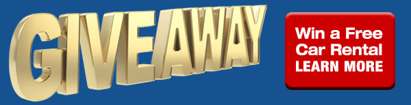 Labor Day Give Away - Win a FREE Car Rental