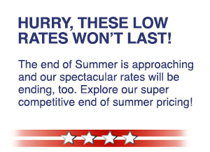 Hurry, These Low Rates Won't Last