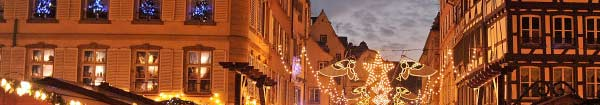 Experience the magic of festive holiday markets with an Auto Europe car rental