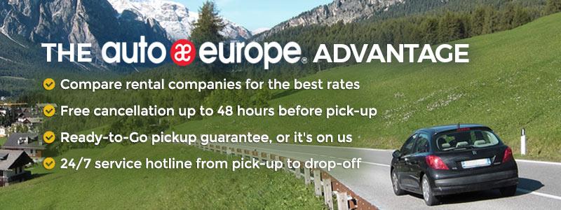 The Auto Europe Advantage