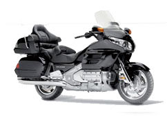 Location Honda Gold Wing