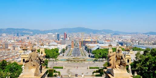 Hyra lyxbil i Barcelona