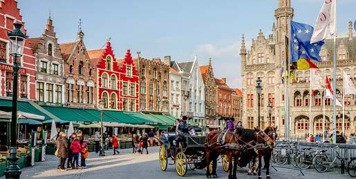 Location voiture Bruges