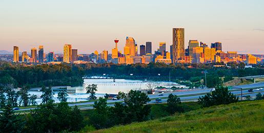Leiebil fra Calgary Flyplass