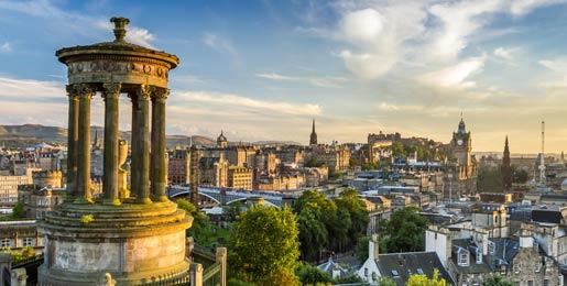 Aluguer de carros Edimburgo