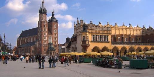 Alquiler de coches en Cracovia