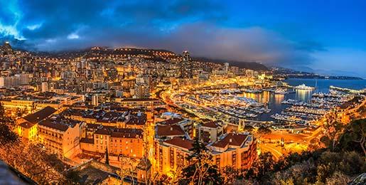 Hyra lyxbil i Monte Carlo