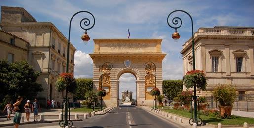 Biludlejning i Montpellier