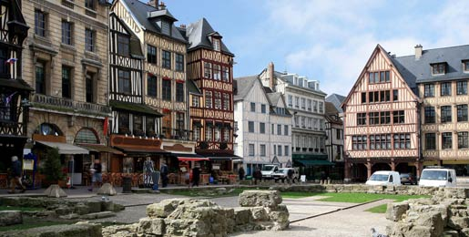 Car hire in Rouen