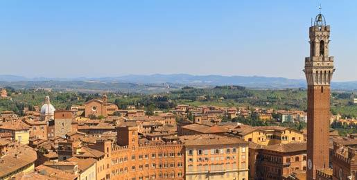 Hyrbil i Siena