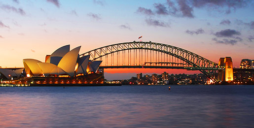 Leiebil i Sydney