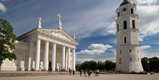 Car hire in Vilnius