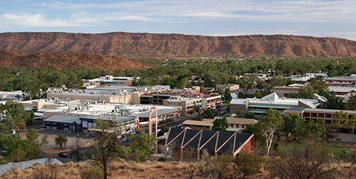 Autoverhuur Alice Springs