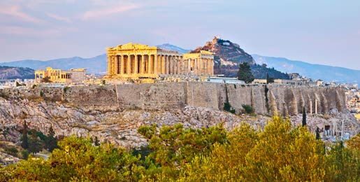 Car hire in Athens