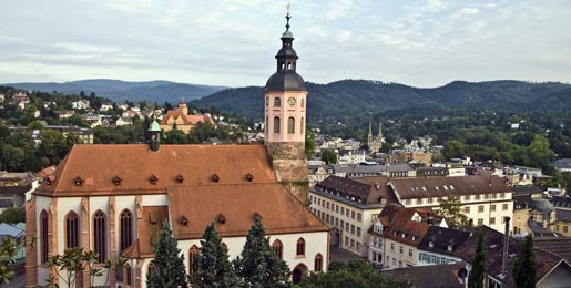 Car hire in Baden Baden
