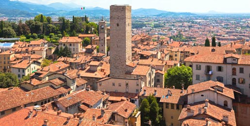 Car hire from Bergamo Airport