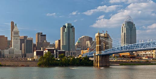 Car hire Cincinnati