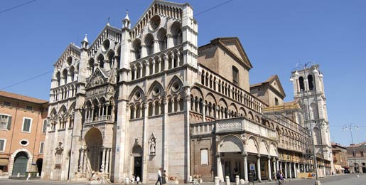Car hire in Ferrara