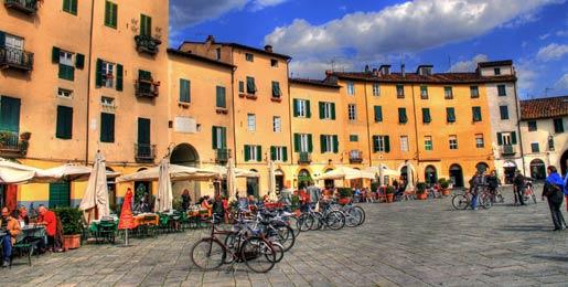 Noleggio auto a Lucca