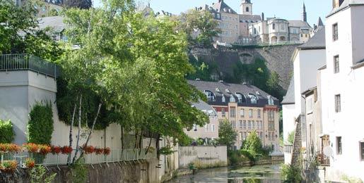Aluguer de carros Cidade do Luxemburgo