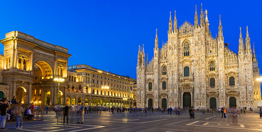 Car Hire in Milan