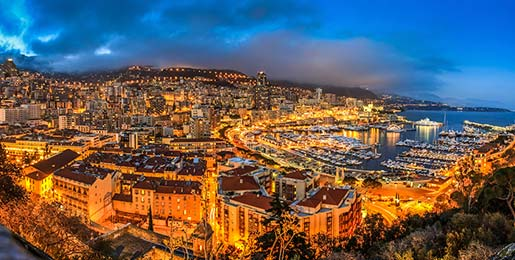 Monte Carlo Restaurants, Bars & Night Life