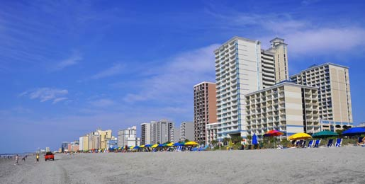 Car hire Myrtle Beach