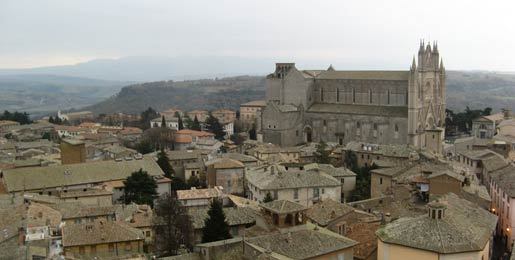 Car hire Orvieto