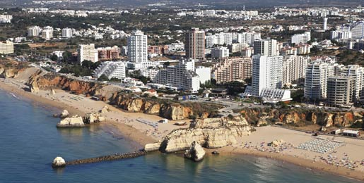 Car hire in Praia da Rocha