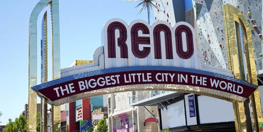 Mietwagen Reno