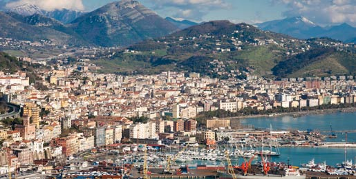 Cheap car hire Salerno