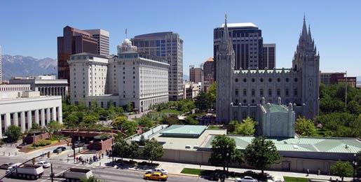 Car hire in Salt Lake City