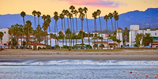 Car hire in Santa Barbara, USA