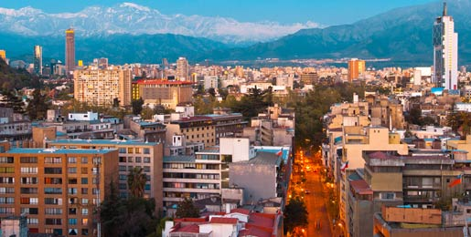 Car hire in Santiago, Chile