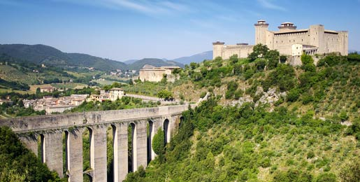 Car hire Spoleto