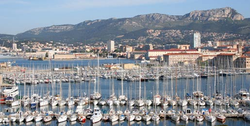 Car hire in Toulon