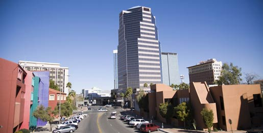 Car hire at Tucson Airport, USA