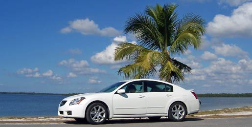 Car hire at Port Vila Airport, Vanuatu