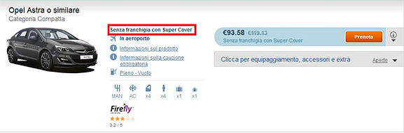 Senza Franchigia con Super Cover
