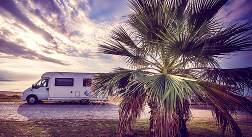 Motorhome rental in Spain