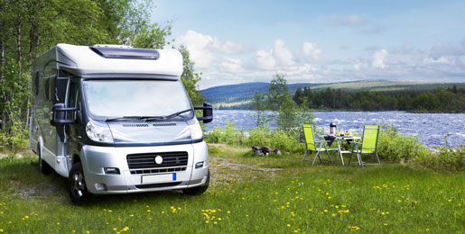 Campervan hire in Finland