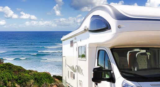 Motorhome hire in Ireland