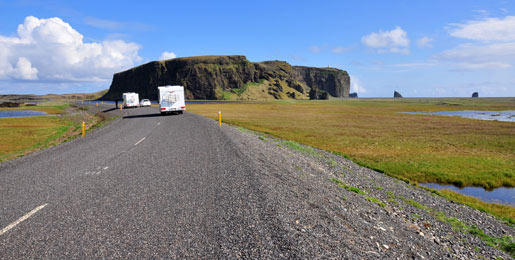 Camper hire in Iceland