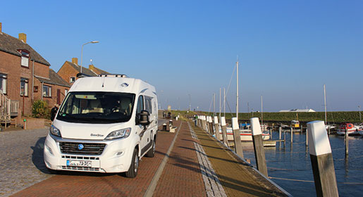 Campervan hire in the Netherlands