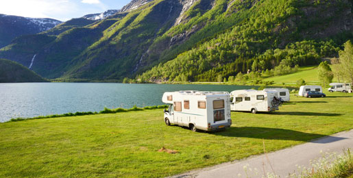 Motorhome hire in Norway