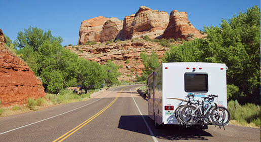 Campervan hire in the USA