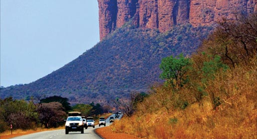 Campervan 4x4 hire South Africa