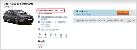 Franquia Zero com Super Cover